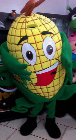 Corn Mascot Costume Adult Food Costume