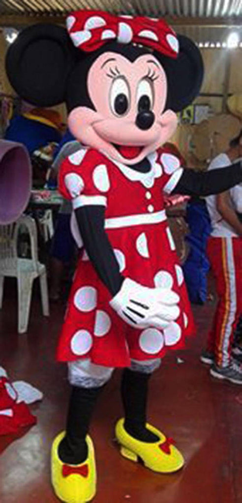 Minnie Mouse Mascot Costume Adult Minnie Costume