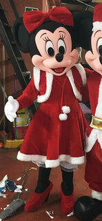Minnie Mouse Mascot Costume Christmas Adult Costume