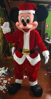 Mickey Mouse Mascot Costume Adult Christmas Mickey Costume