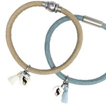Sea Tassel Leather Bracelet