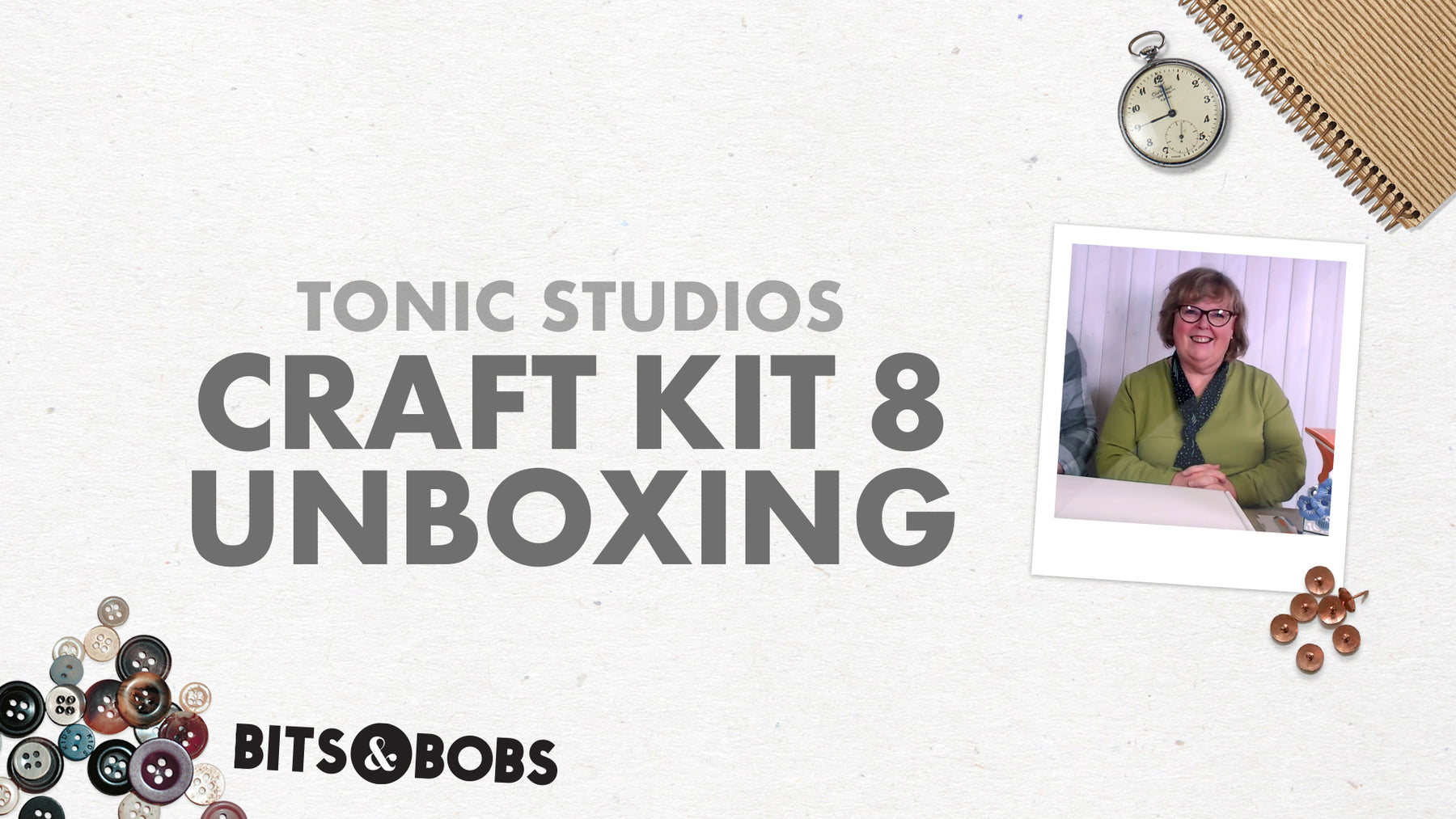 Tonic Craft Kit 08 - Trinket Draw Live Unboxing - Alison Whelan