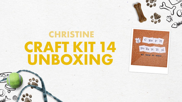 Tonic Craft Kit 14 - Unboxing - Crafti Potential