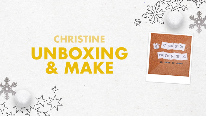 Tonic Craft Kit 13 - Unboxing Snowflake Gift Card Box - Crafti Potential