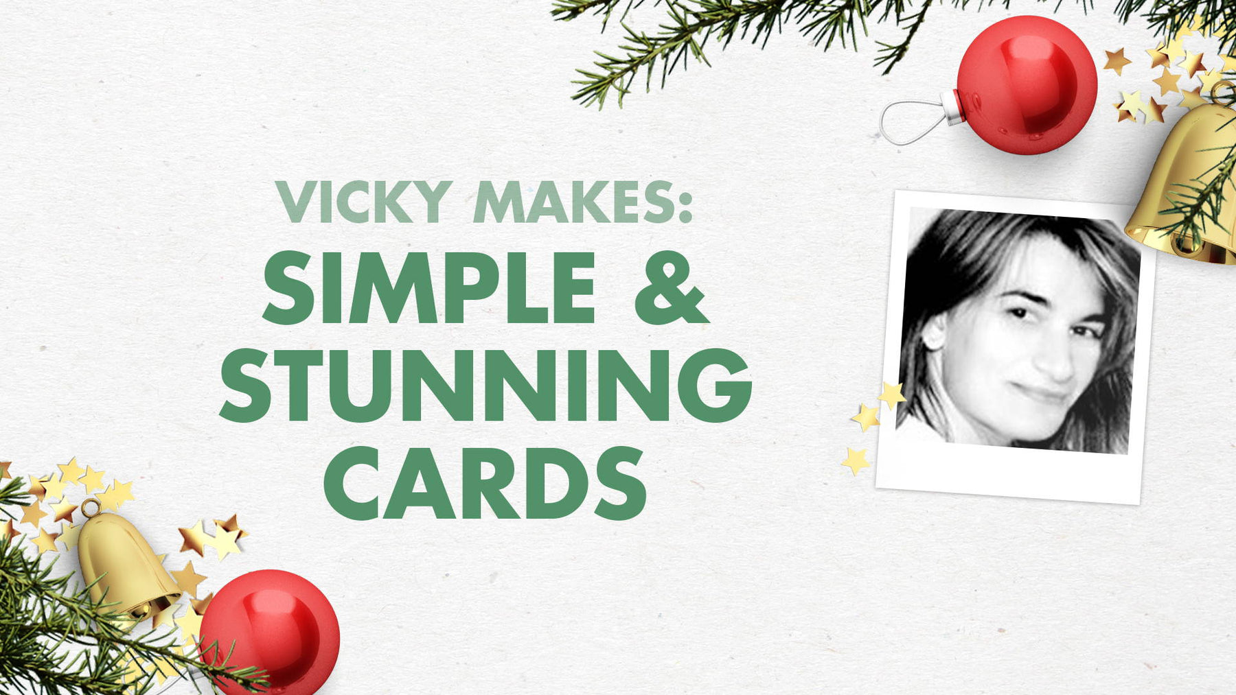 Tonic Craft Kit 11 - Festive Wishes Simply Stunning Cards - Vicky Papaioannou