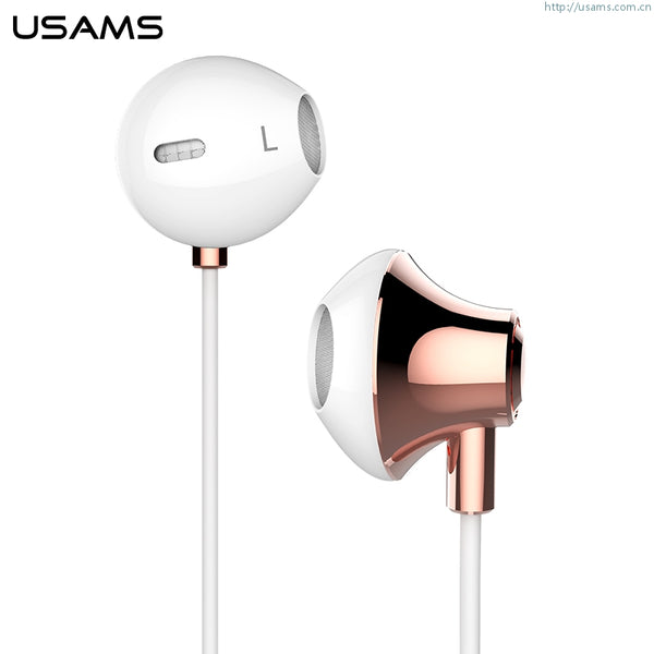 US-SJ022 Fashionable Metal Earphone - Ejoy Series