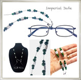 Imperial Jade Eyeglass Chain