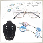 Mother of Pearl Eyeglass Chain
