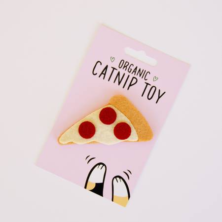 Catnip Pizza Cat Toy