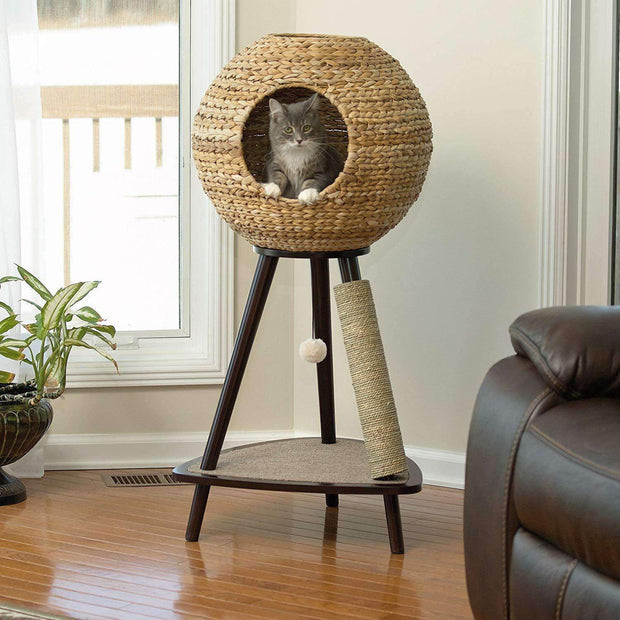 Sphere Cat Scratching Post Tree