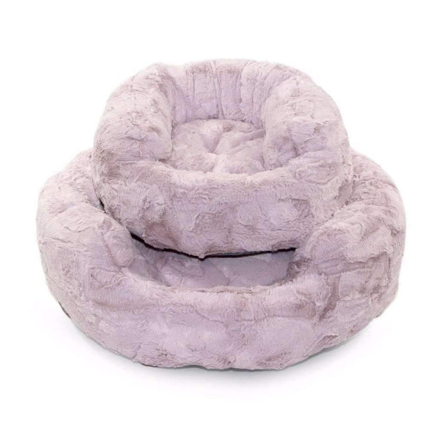 amour cat bed in blush luxury cat products