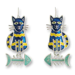 Calypso Fish Cat Earrings