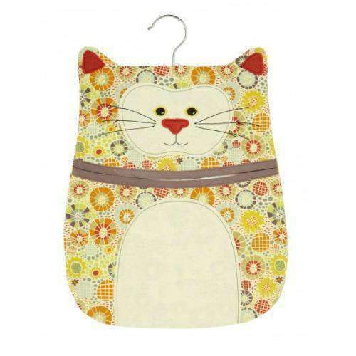 cat shaped peg bag