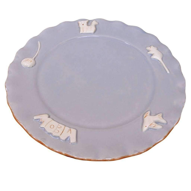 Cat Whisker Plate In French Grey