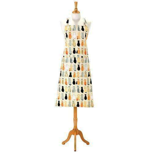 cats in waiting apron by ulster weavers