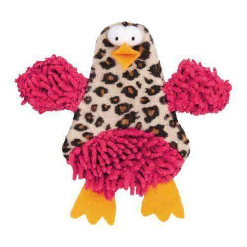 crinkle chicken cat toy