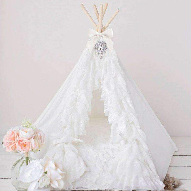 lullaby teepee pet bed