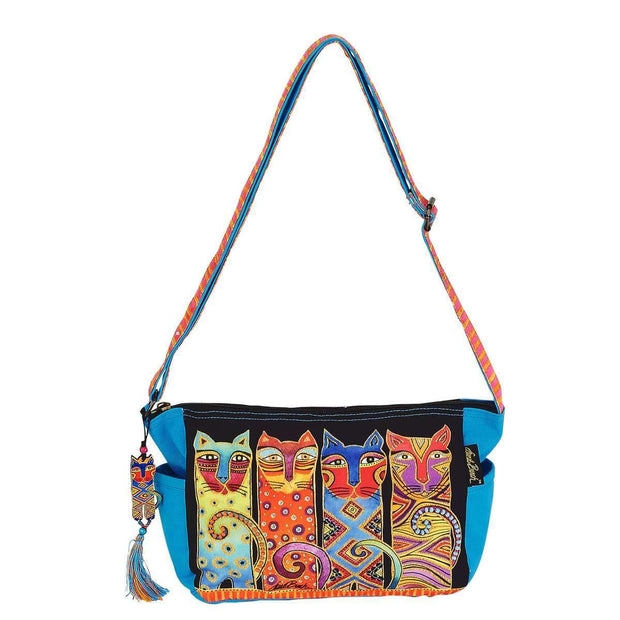 Laurel Burch Feline Clan Crossbody Tote