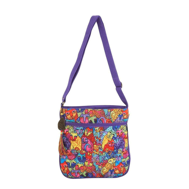 Laurel Burch Feline Tribe Crossbody Tote