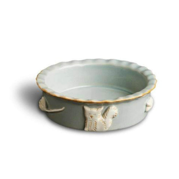 french grey cat dish