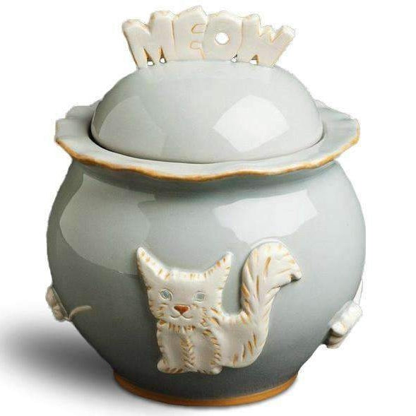 French Grey treat jar