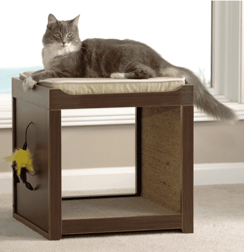 Interactive Cat Scratching Board Table