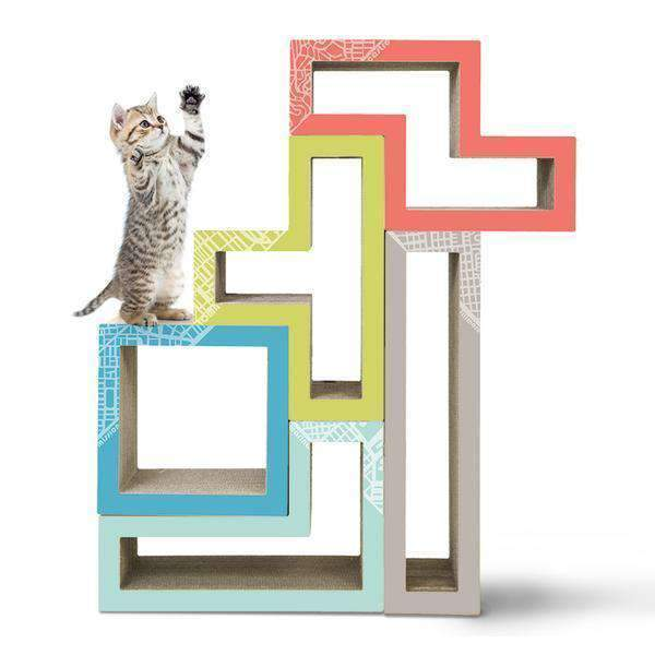 katris bundle of 5 city modular cat furniture
