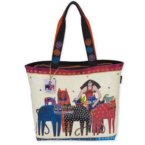Laurel Burch ETA Friends Oversized Shoppers Tote