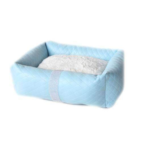 liquid Ice luxury cat bed In blue