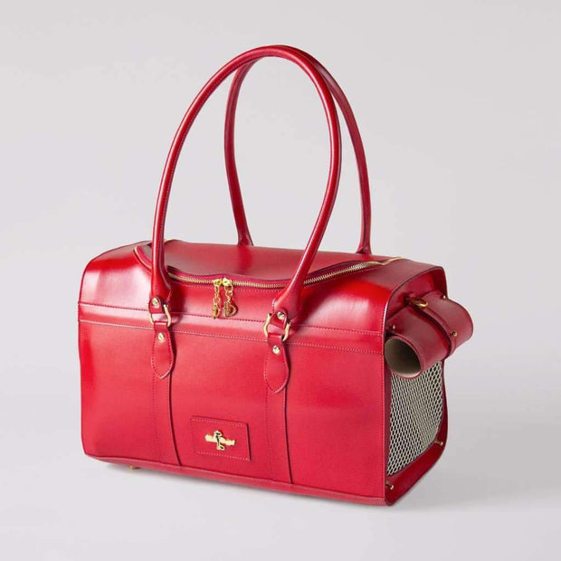 Grand Voyager Pet Carrier In Red