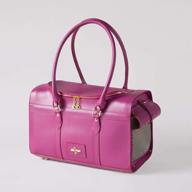 Grand Voyager Pet Carrier In Fuchsia