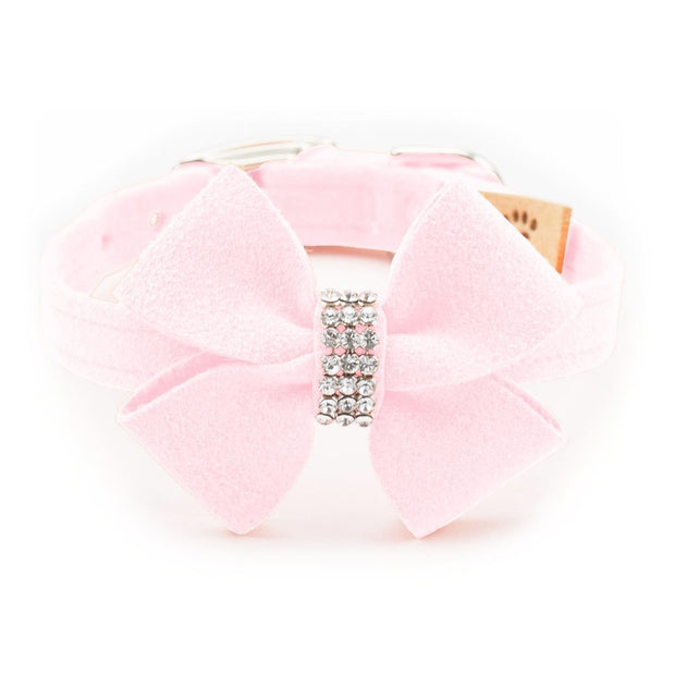Nouveau Bow Collar In Pink