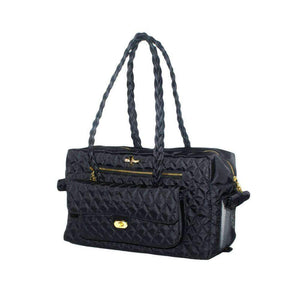 porsha cat carrier in black