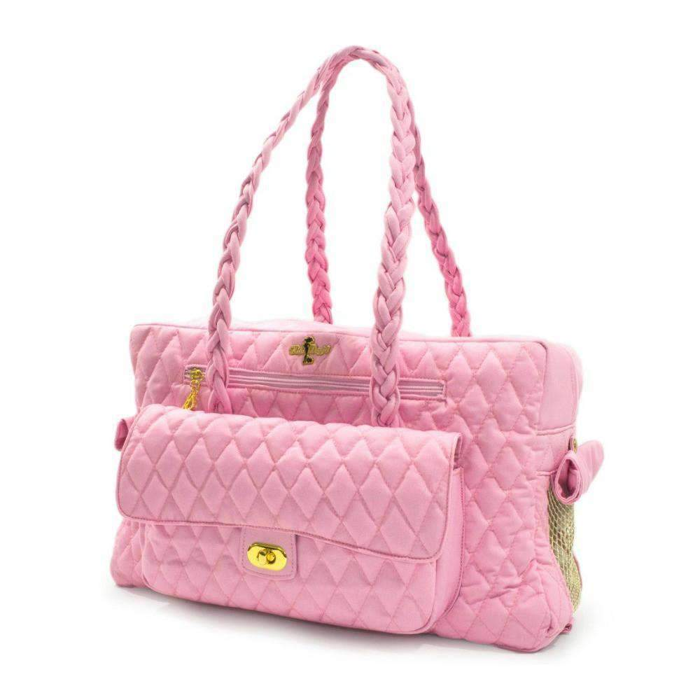 porsha cat carrier in pink