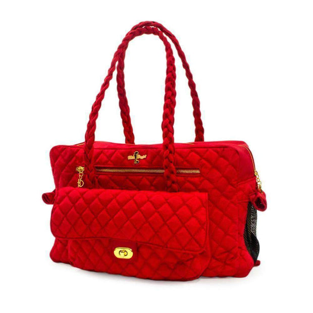 porsha cat carrier in red