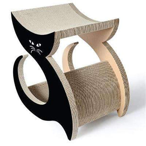 Purresque Designer Cat Lounger & Scratcher