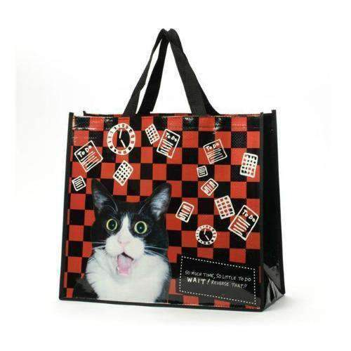 so much time cat lovers tote bag