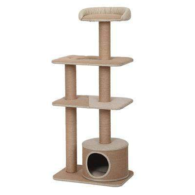 Spire 4 level cat tower lookout and condo hideout