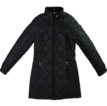 Women's Fur Lined Quilted Jacket