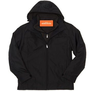 Men's Dual Zipped Car Coat
