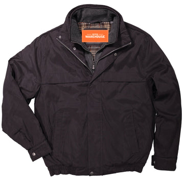 Men's Microfiber Bomber Jacket