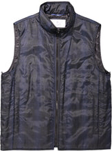 Men's Single-Breasted Topcoat with Quilted Vest