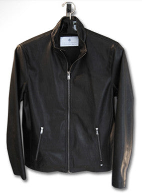 Men's Light Weight Faux Leather Motocross Jacket