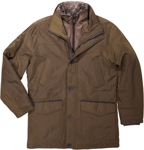 Men's Rugged Oxford four pocket Parka