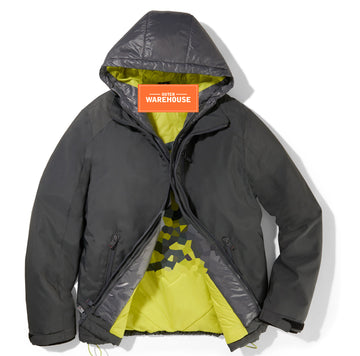 Men's Puff Hooded Jacket