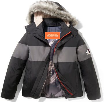 Men's Sherpa Hooded Parka