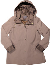 Women's Plus Hooded Rain Jacket
