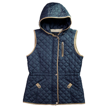 Women's Quilted Hooded Vest
