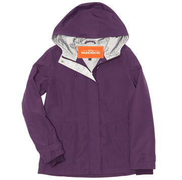 Women's Nylon Hooded Windbreaker