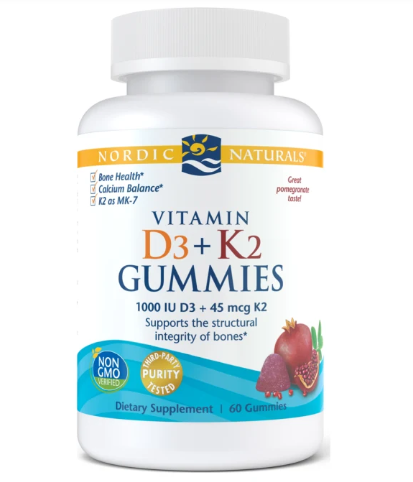 Vitamin D3 and K2 Gummies